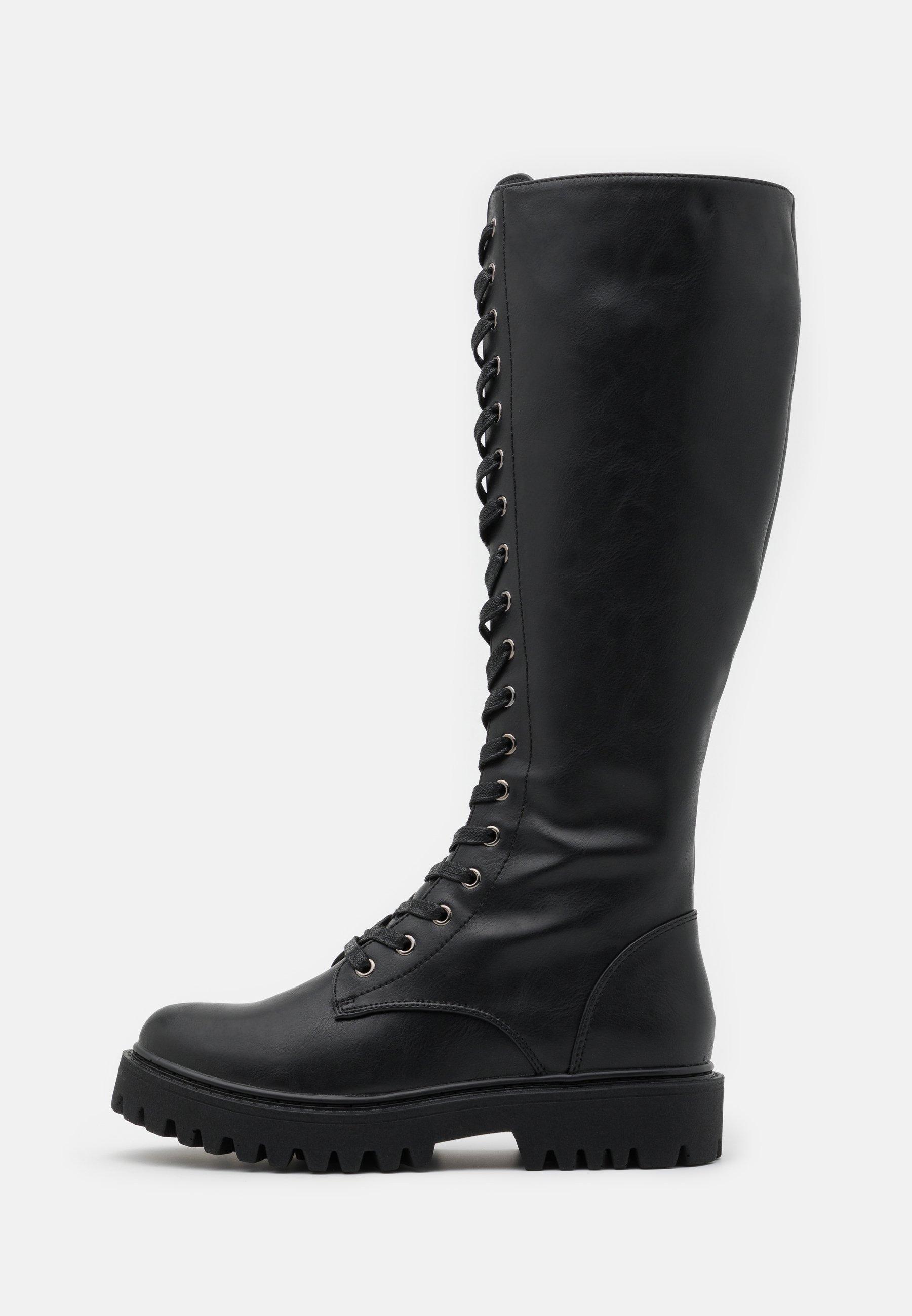 Women Platform boots - black