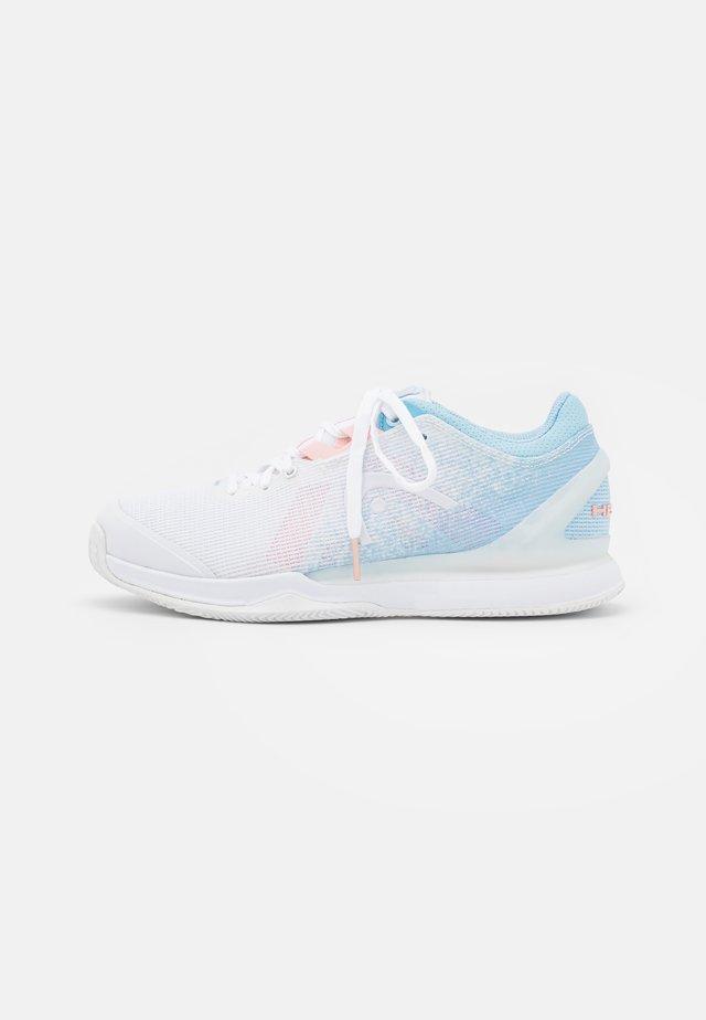 SPRINT PRO 3.0 - Tenisové boty na všechny povrchy - white/blue light