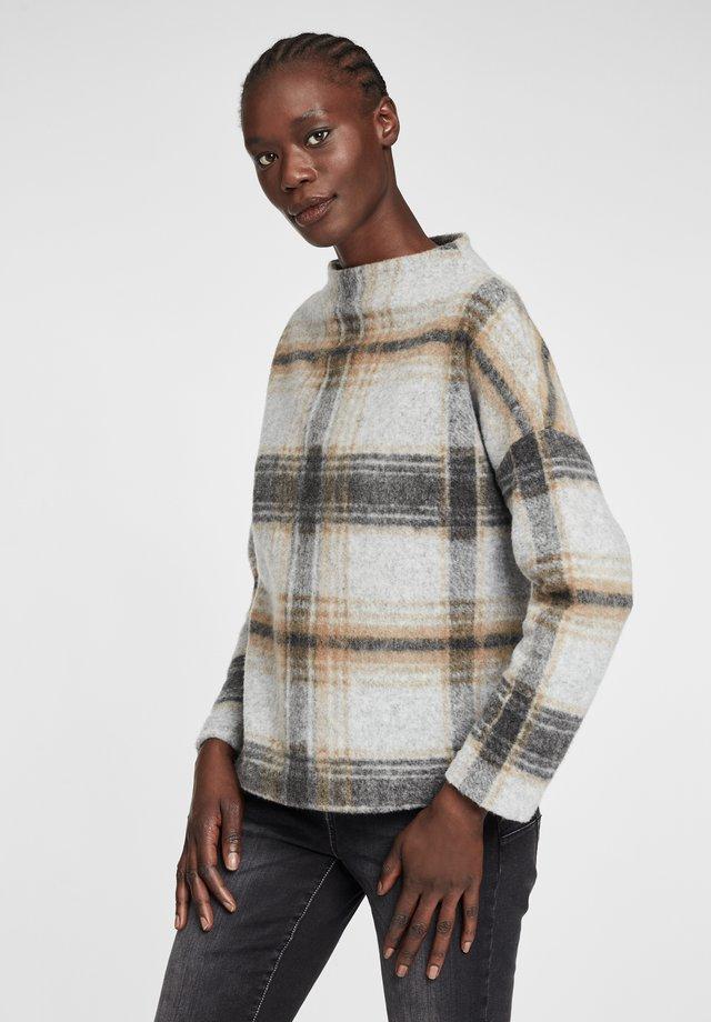 Sweatshirt - grey/yellow