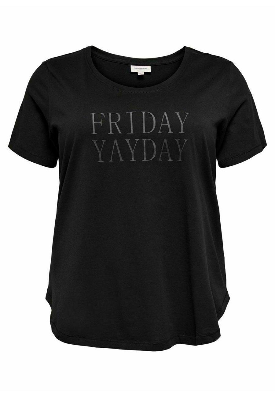 Damen CURVY STATEMENT - T-Shirt print