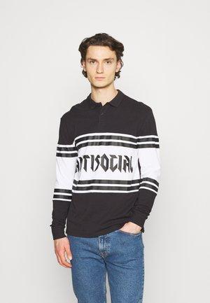 UNISEX - Polo shirt - black