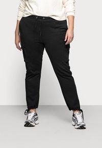 Vero Moda Curve - VMANE - Kalhoty - black - 0