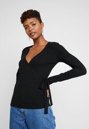 VIWONDA  - Long sleeved top - black