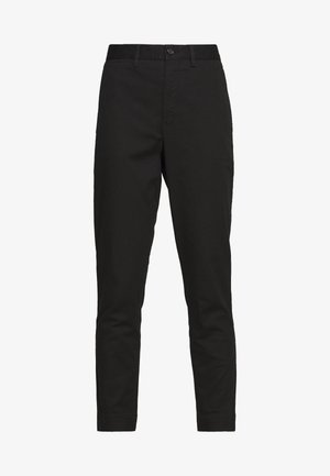 SLIM LEG PANT - Trousers - black