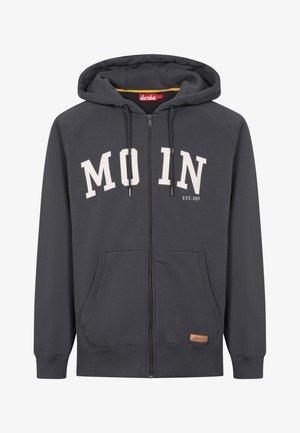 MOIN - Sweater met rits - phantom