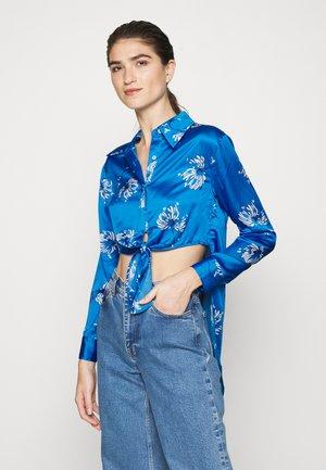 KNOT - Koszula - crisantemo blue