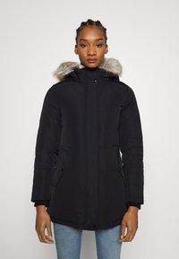 Calvin Klein Jeans - TECHNICAL LONG - Down coat - ck black - 0