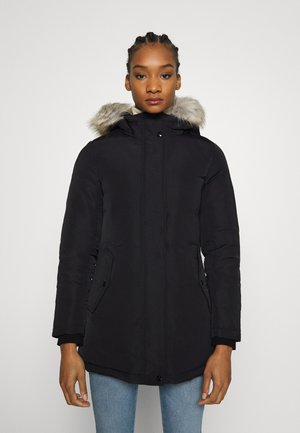 TECHNICAL LONG - Down coat - ck black