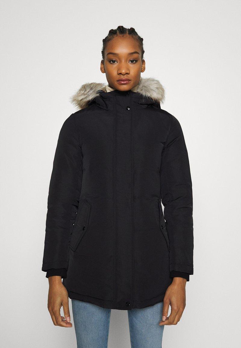 Calvin Klein Jeans - TECHNICAL LONG - Down coat - ck black