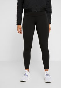 Reebok - ELEMENTS TRAINING TRACKSUIT - Treningsdress - black - 3