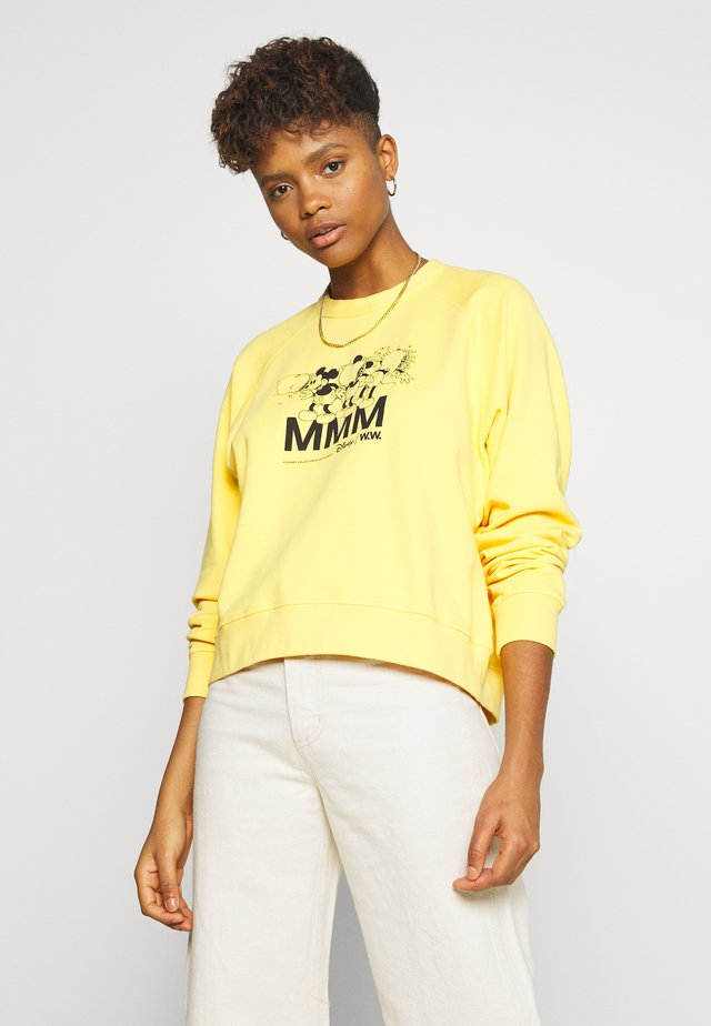 JERRI  - Sweatshirt - yellow