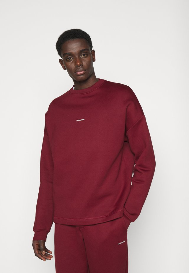 FLEA CREW - Sweater - burgundy