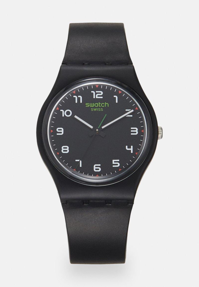 Swatch - MASA - Zegarek - solid black
