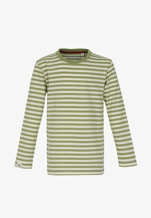 Long sleeved top - light olive