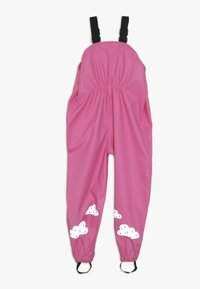Frugi - PUDDLE BUSTER TROUSERS - Rain trousers - flamingo - 1