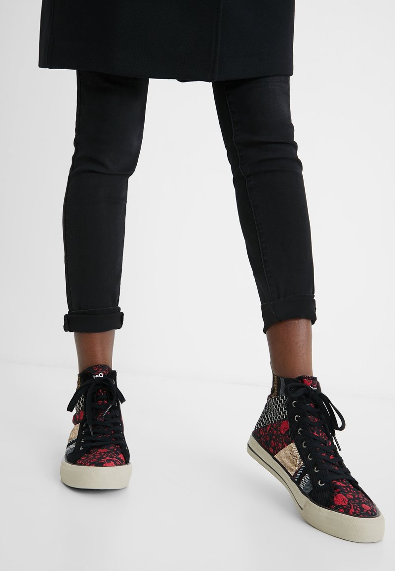 Desigual - BETA JOYA - High-top trainers - black