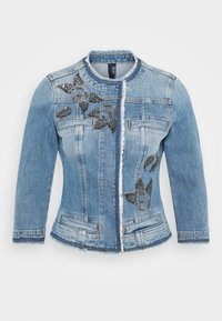 Liu Jo Jeans - GIACCA KATE - Denim jacket - light blue denim - 4