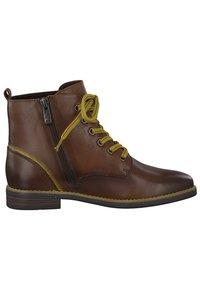 Marco Tozzi - Lace-up ankle boots - cognac ant.com 372 - 3