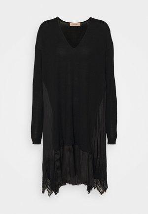 ABITO RASO PLISSE - Jumper dress - nero