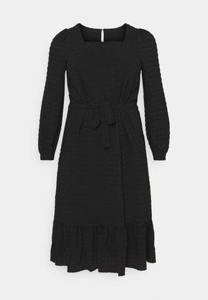 PCKUMA MIDI DRESS - Day dress - black