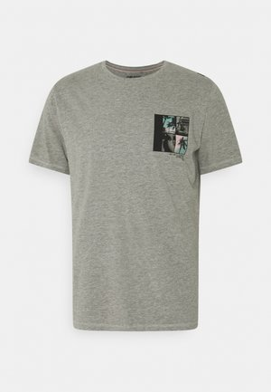 TEE - Print T-shirt - stone mix