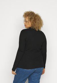 Tommy Hilfiger Curve - ROLl  - Long sleeved top - black - 2