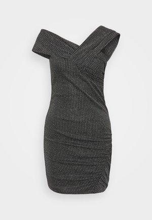 CLUB DRESS - Cocktail dress / Party dress - black/silver
