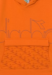 Diadora - HOODIE HOOPLA UNISEX - Sweater - persimmon orange - 2