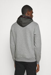 CLOSURE London - CONTRAST HOOD WITH TAPING - Hoodie - grey - 2