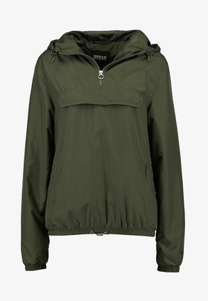 Windbreaker - dark olive
