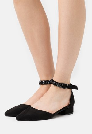 PELICANBLING ANKLE STRAP  - Tacones - black