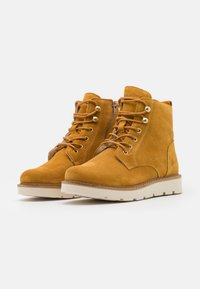 Vero Moda Wide Fit - VMRIALO BOOT WIDE FIT - Winter boots - buckthorn brown - 2