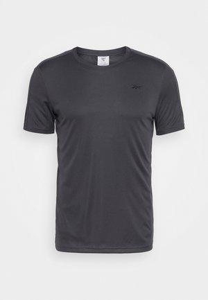TECH TEE - Camiseta estampada - ash grey