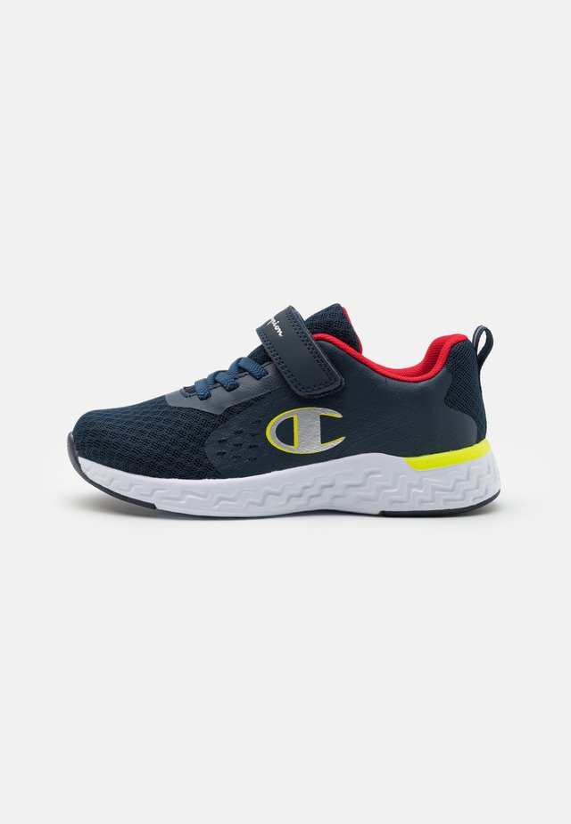 LOW CUT SHOE BOLD UNISEX - Chaussures d'entraînement et de fitness - navy/red/yellow