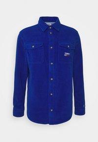 Tommy Jeans - POLAR UNISEX - Button-down blouse - providence blue - 0