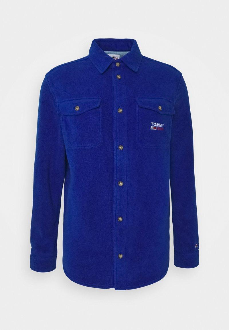 Tommy Jeans - POLAR UNISEX - Button-down blouse - providence blue