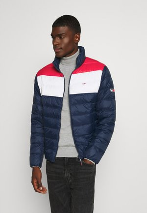 COLORBLOCK LIGHT JACKET - Bunda z prachového peří - twilight navy