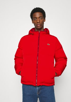 Daunenjacke - red