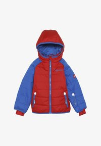 TrollKids - KIDS HAFJELL SNOW JACKET  - Ski jacket - medium blue/red - 3