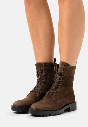 MILITARE - Lace-up ankle boots - arabica