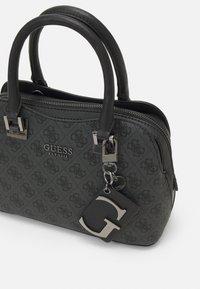 Guess - MIKA SMALL GIRLFRIEND SATCHEL - Handbag - coal - 4