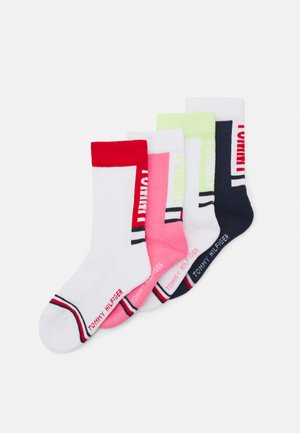 KIDS SPORT SOCK 4 PACK UNISEX - Socks - pink combo