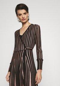 Diane von Furstenberg - EDELINE - Maxi dress - black/pale pink - 5