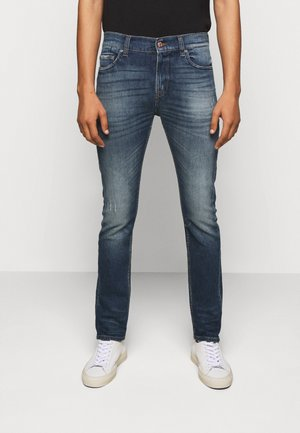 RONNIE CAVALRY  - Slim fit jeans - dark blue
