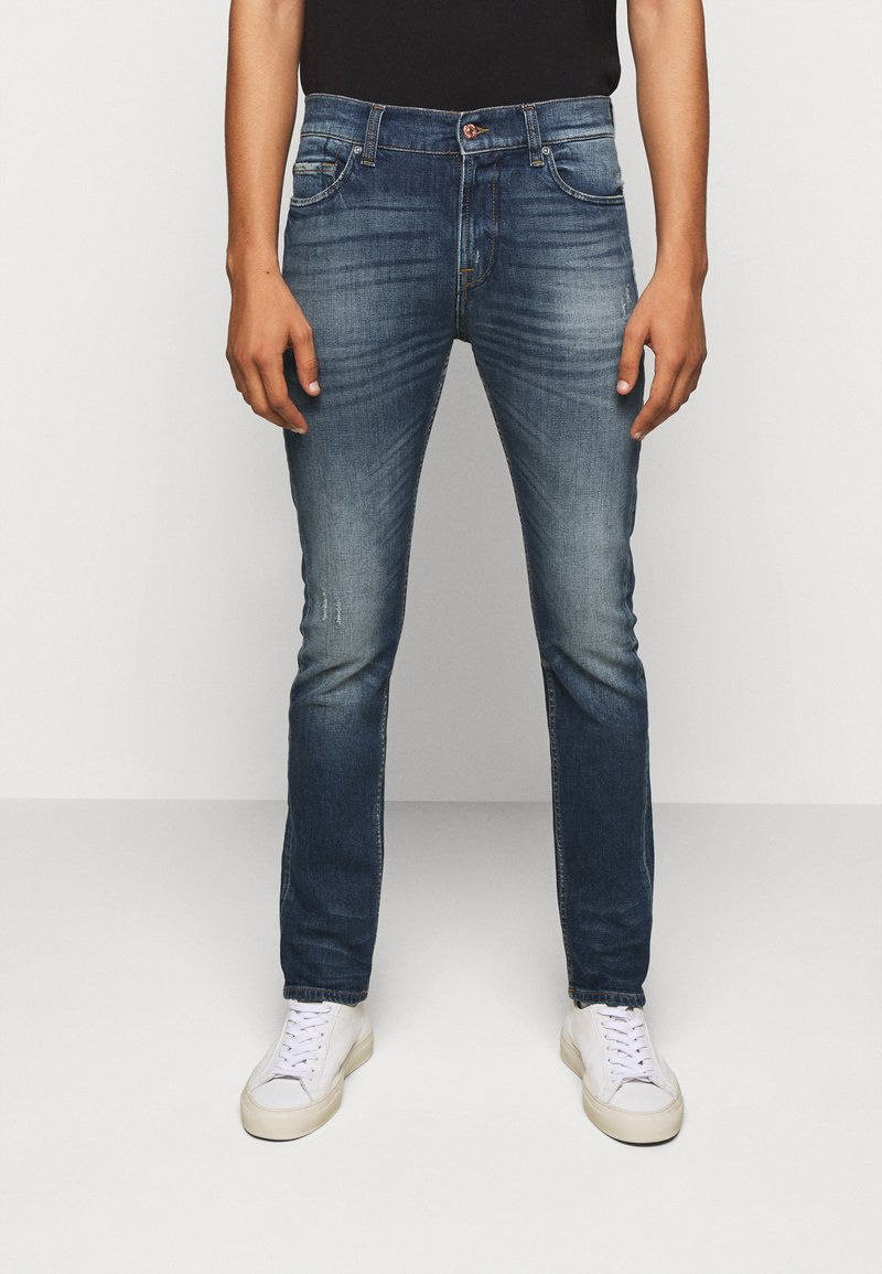 7 for all mankind - RONNIE CAVALRY  - Slim fit jeans - dark blue
