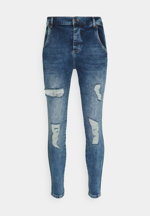 DISTRESSED SUPER  - Jeans Skinny Fit - light blue