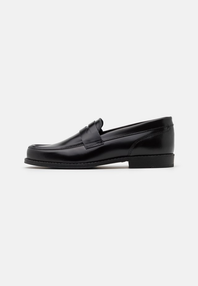 GINZA LOAFER - Slippers - black