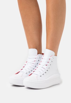 CHUCK TAYLOR ALL STAR MOVE AND SHINE PLATFORM - Sneaker high - white