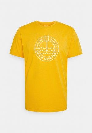 TRIDENT - Printtipaita - golden yellow