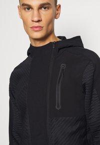 adidas Performance - TRAINING HOODED TRACKSUIT JACKET - Zip-up hoodie - black - 3